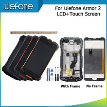 """For Ulefone Armor 2 LCD Display And Touch Screen +Frame Perfect Repair Parts For Ulefone Armor 2 Digital Accessory 5.0"""" +Tools"""