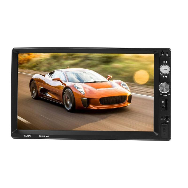 VODOOL 7011B 2 Din 7 Touch Screen 1024 600 HD Car MP5 Player Stereo Bluetooth FM