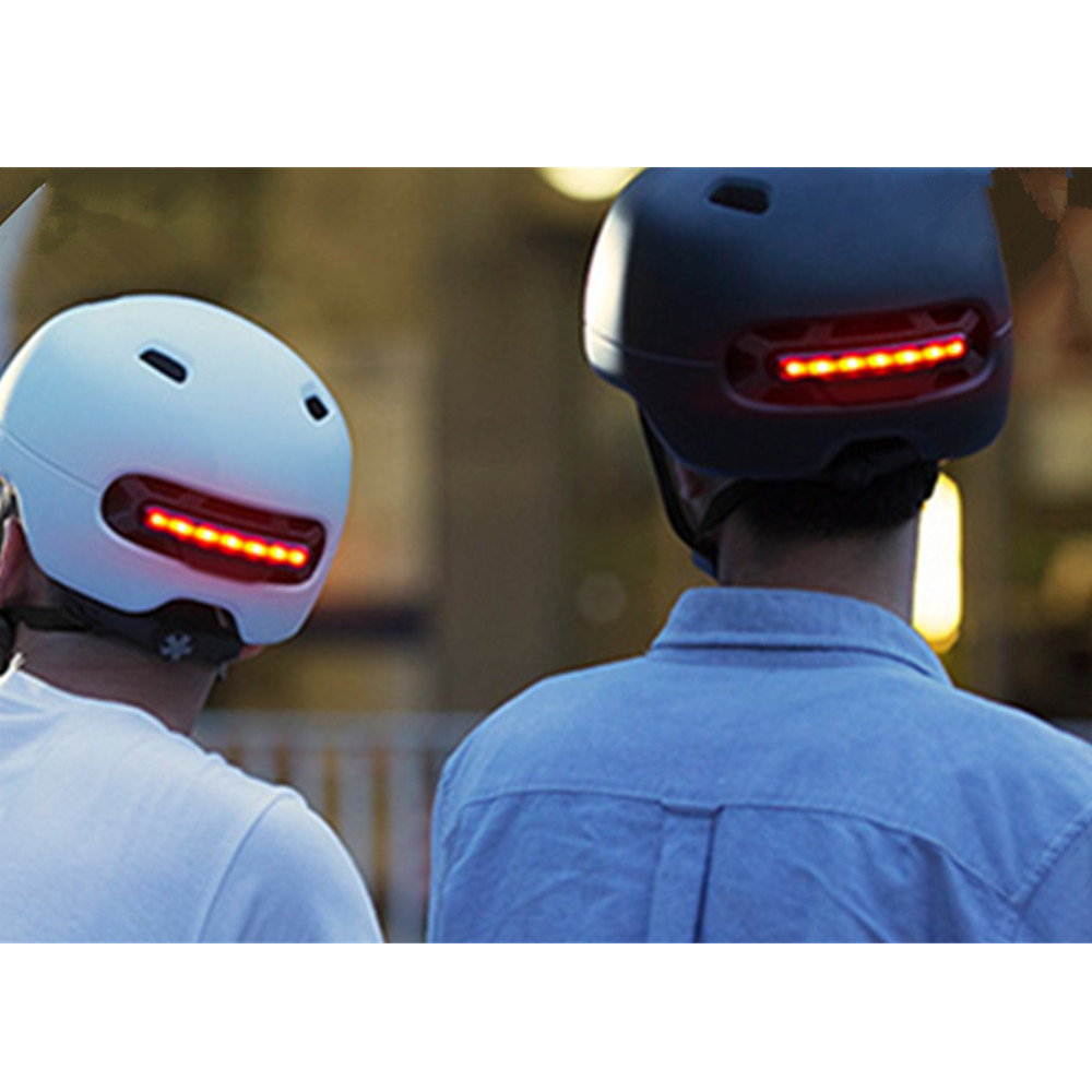 9a9f43c48b9b Detail Feedback Questions about Xiaomi Smart4u Waterproof Bicycle Helmet  Smart Flash Helmets Men Women Back Light Mountain Road Bike Helmet LED  Warning ...