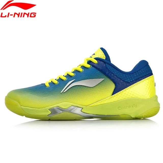 Li-Ning Men ATTACK Professional Badminton Training Shoes Cushion Wearable LiNing BOUNSE+ Sport Shoes Sneakers AYZN005 XYY099