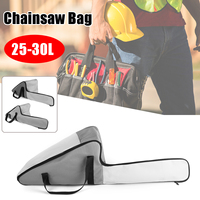 Doersupp 25 30L Gray Chainsaw Carrying Bag Case Protective Holdall Holder Chainsaw Box For Carry Storage Chain saw Bags