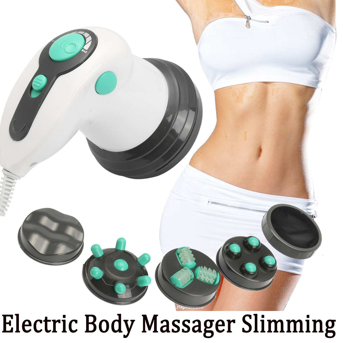 Electric Body Massager Slimming Anti-cellulite Machine Massage Women Full Body Slim Relax Professional Beauty Tool roll