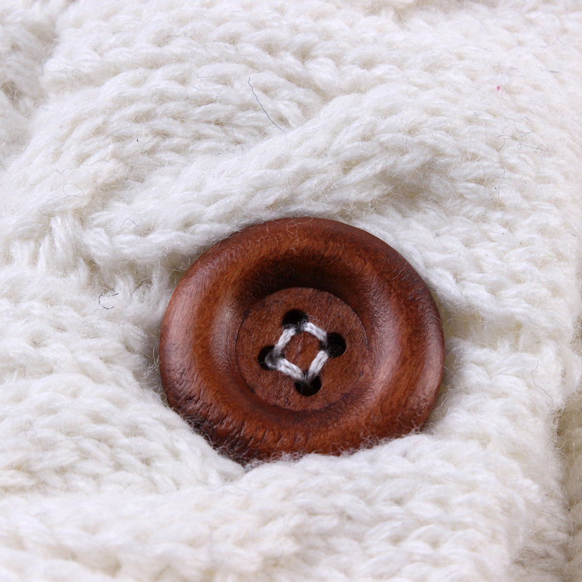 Newborn Baby Winter Warm Sleeping Bags Infant Button Knit Swaddle Wrap Swaddling Stroller Wrap Toddler Blanket Sleeping Bags 5