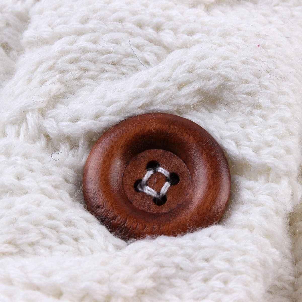 Sacos de dormir calientes de invierno para bebés recién nacidos, botoncillos de punto, envolver, envolver cochecito, envolver, manta para niños, sacos de dormir