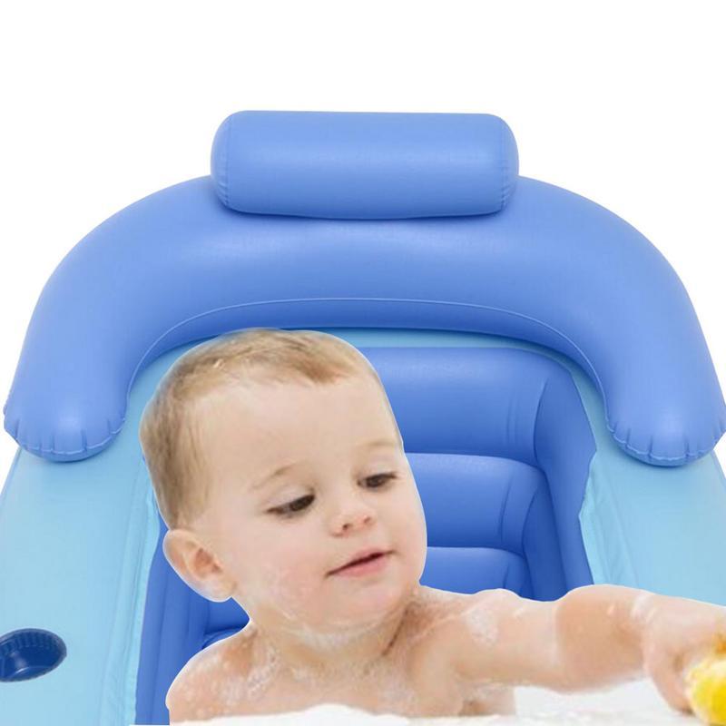 Baignoire gonflable chaude résistante au froid PVC baignoire SPA Portable avec pompe à Air électrique adulte épaississement baril de bain pour enfants