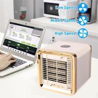 Mini Air Cooler Refrigeration Humidification Air Purification USB Fan Air Conditioner Webasto peugeot partner Car Fan