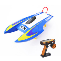 M440 RTR Fiber Glass Electric RC Racing Speed Boat Ready To Run Catamaran RC Boat W/Remote Control/Brushless Motor THZH0018