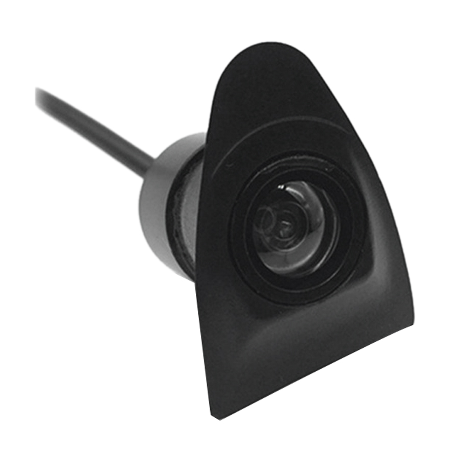 Car Ccd Front View Camera For Toyota Night Vision 170 Degree Front View Camera