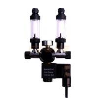 Aquarium Wyin Double Outlet Guage CO2 Regulator with Check Valve Bubble Counter Solenoid Valve and Installing Kits