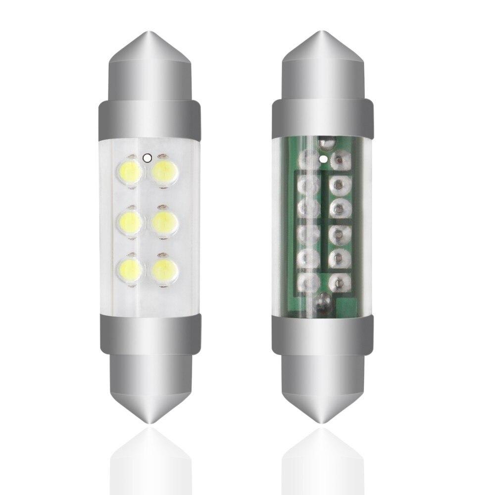 High Quality Festoon Cob 28mm 36mm 39mm 42mm LED Bulb C5W C10W Super Bright Canbus Auto Interior Doom Lamp Car Styling Light