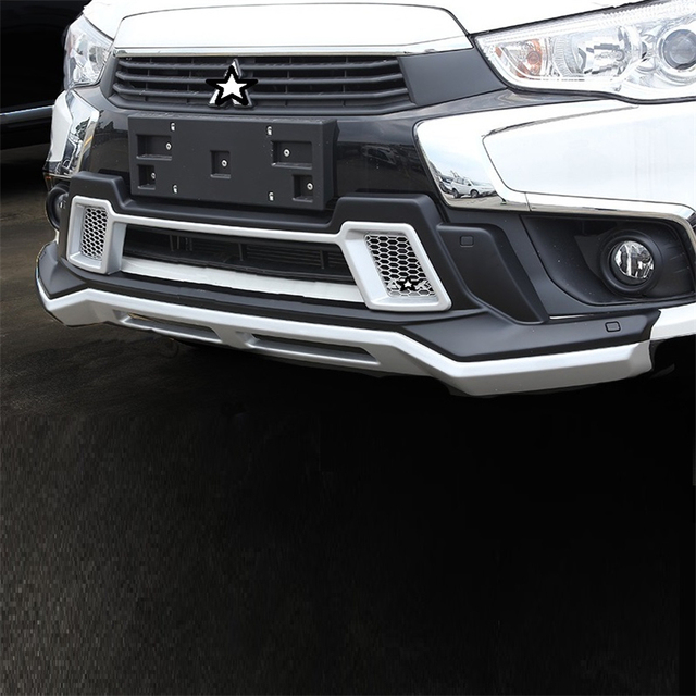 Rear Diffuser Lip Car Decorative Modification Mouldings tuning Front Bumpers protector 13 14 15 16 17 18 FOR Mitsubishi ASX