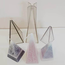 DIY Handmade Candle Mold Cone Clear Plastic Candle Making Model Reusable