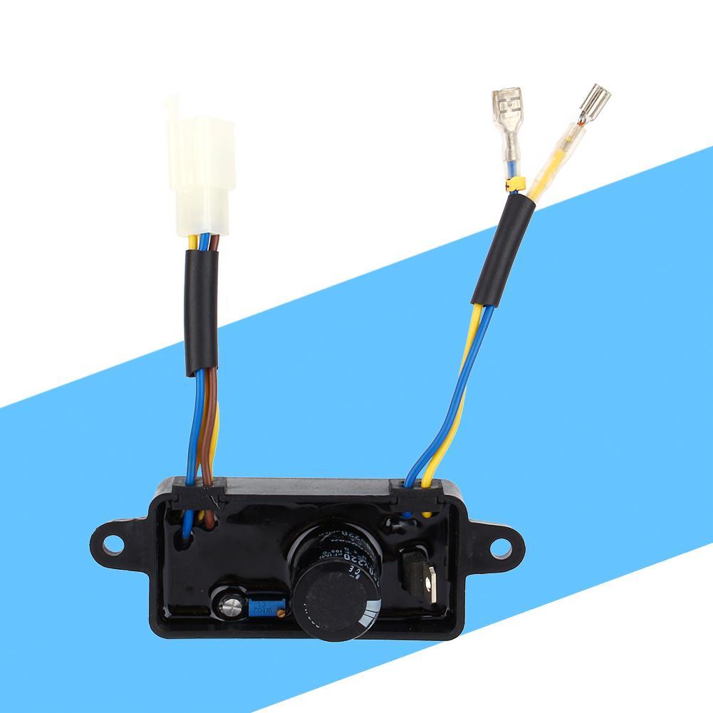 1pcs Voltage Regulator Rectifier Single Phase AVR for 2KW-3KW Chinese Generator