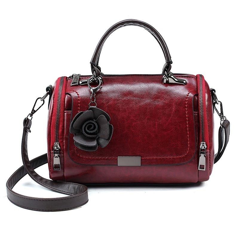 Simple Luxury Handbags For Women Bags Designer Vintage Shoulder Clutch Bag Pu Leather Lady Handbag Crossbody Bag