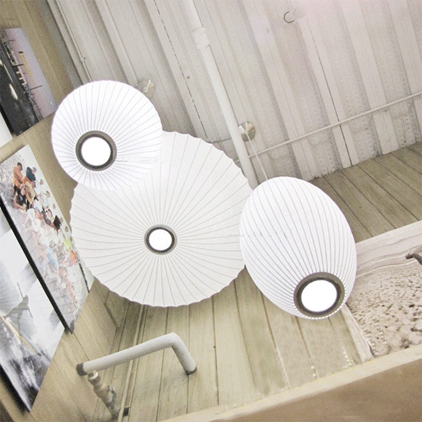 American Style Cloth Pendant Lights Led Pendant Lamp Restaurant Bedroom Living Corridor Kitchen Fixtures Hanging Lamp Luminaire
