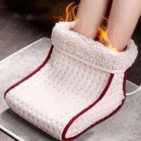 Foot Electric Massager Warm Foot Warmer Washable Heat 5 Modes Heat Settings Thermal Cushion Foot Care Tools