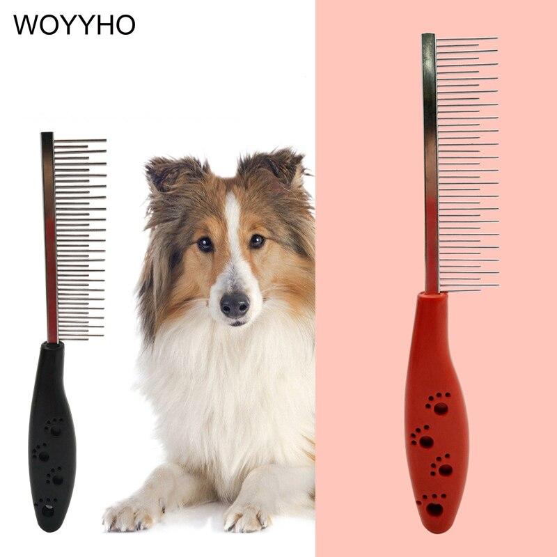 Расческа для стрижки домашних животных, щетка для вычесывания шерсти щенков, инструмент для чистки