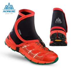 AONIJIE Outdoor Trail Riflettente Ghette Unisex Alta Protezione Sandproof Scarpa Coperture Per Corsa e Jogging Da Jogging Maratona Trekking E940