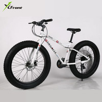 New X front Brand Carbon Steel Frame Snowmobile 4.0 Fat Wide Tire 7/21/24/27 Speed Downhill Mountain Beach Bike Mtb Bicycle