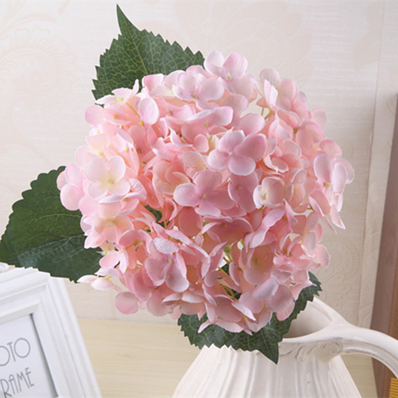 Plastic Simulation Fake Hydrangea Heads Silk Flower Buds Party
