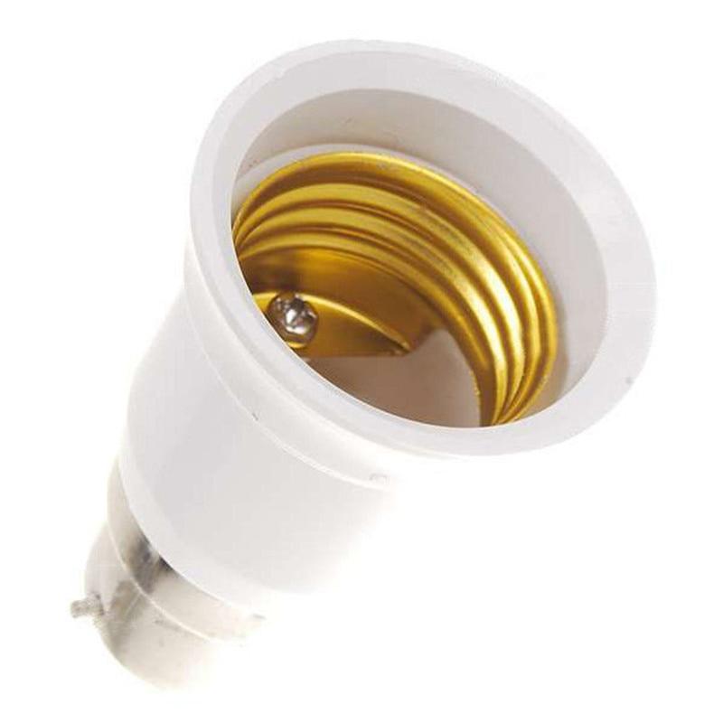 Lamp Light Bulb Socket Base Converter Bayonet adapter B22 to G24 UK STOCK
