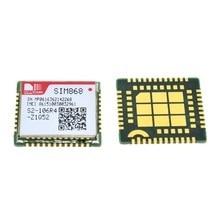 10 قطعة SIM868 GSM جي بي آر إس بلوتوث GNSS ، وحدة SMS GSM ، بدلا من SIM808 SIM908