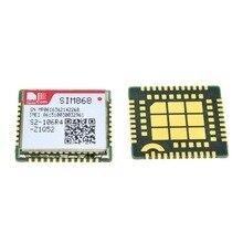 10 pces sim868 gsm gprs bluetooth gnss, módulo sms gsm, em vez de sim808 sim908