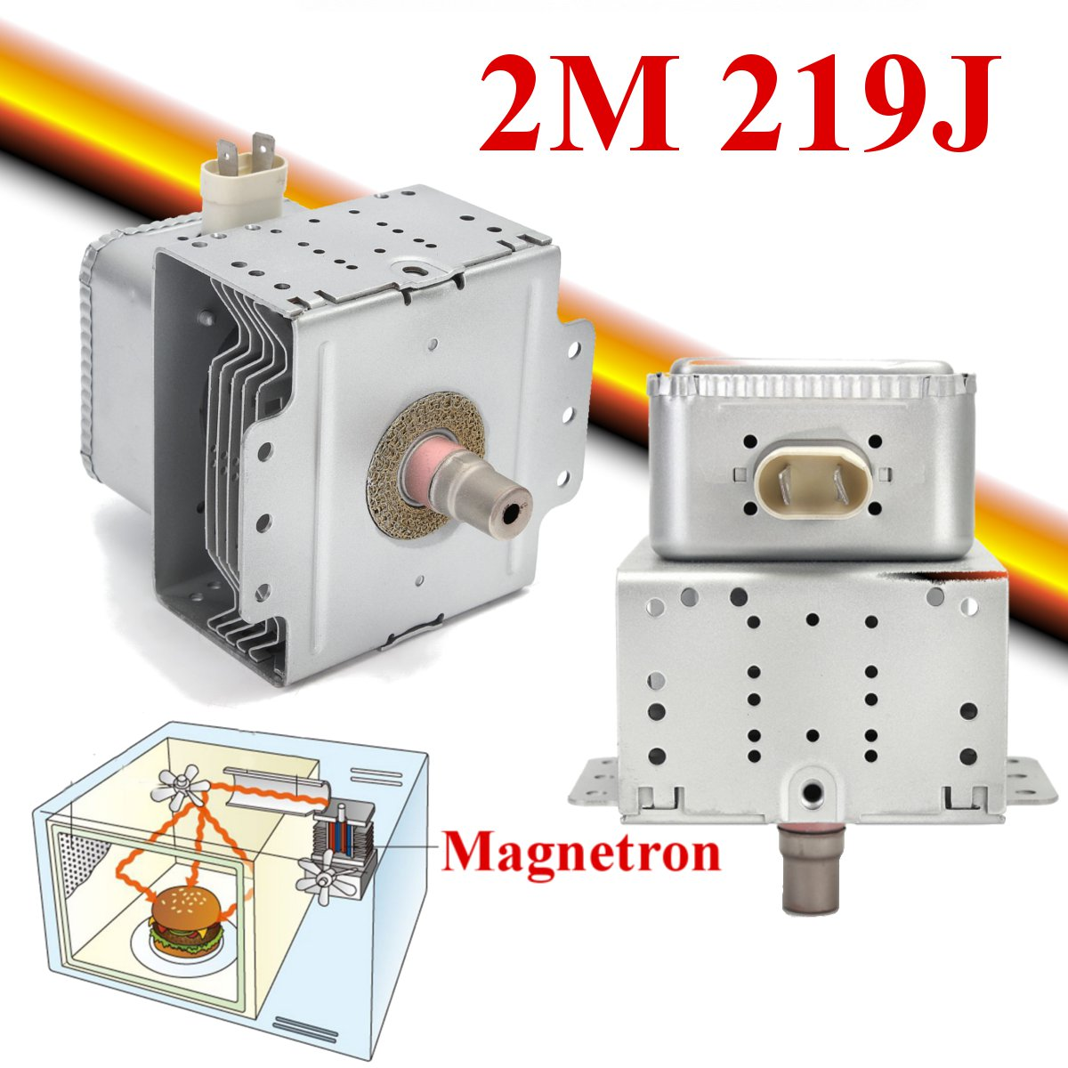 High Quality Microwave Oven Magnetron for Midea WITOL-2M 219J Microwave Oven Parts Refurbished MagnetronHigh Quality Microwave Oven Magnetron for Midea WITOL-2M 219J Microwave Oven Parts Refurbished Magnetron