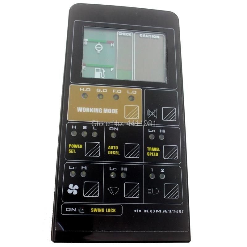 PC200 5 LCD Monitor 7824 72 3100 fits Komatsu Excavator Gauge Panel 1 year warranty