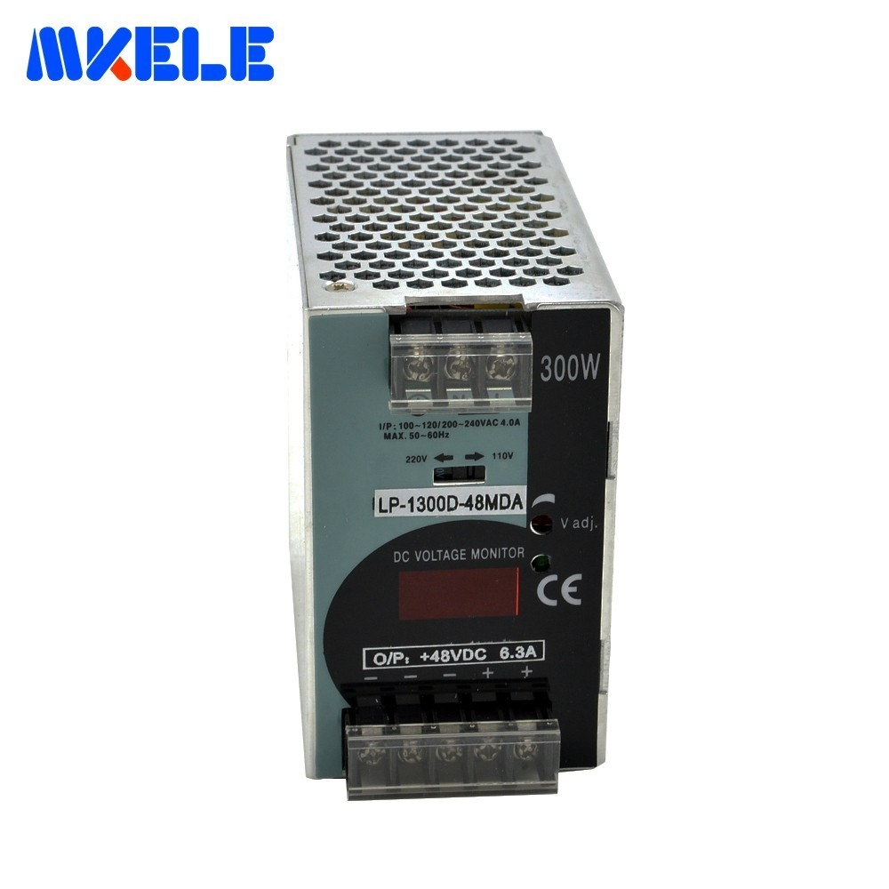 цена на Din Rail Power Supply Switching 300W LP-300-48 48V 6.25A Single Output Switching Power Supply AC To DC For LED Driver Makerele