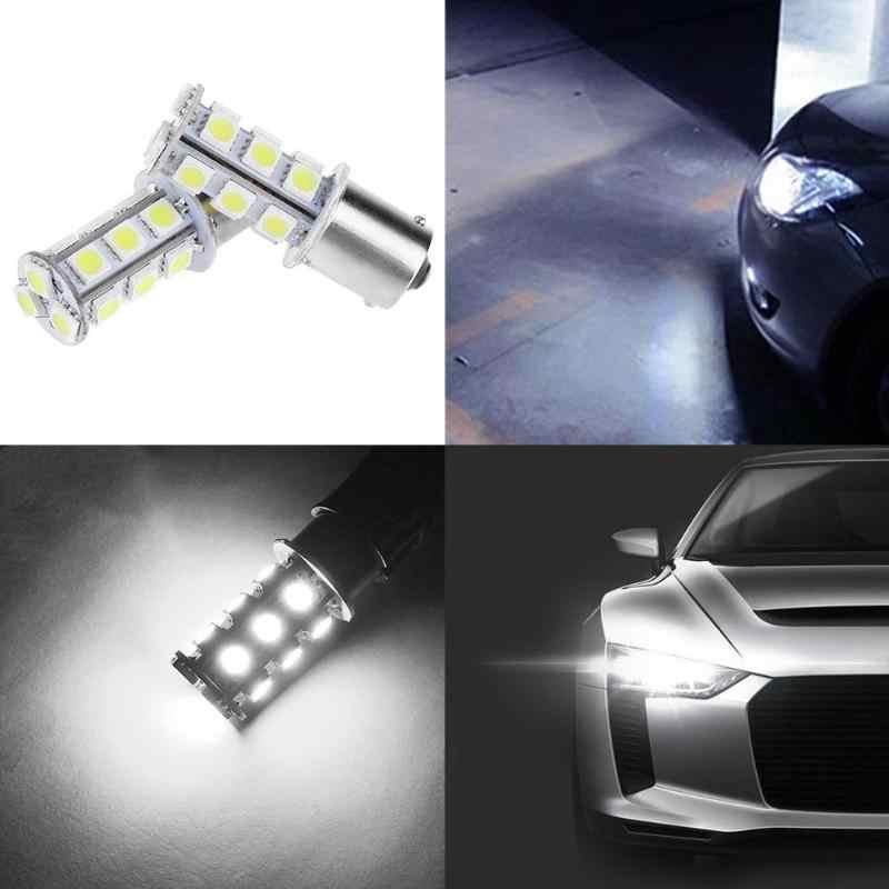 חדש 1 Pcs 13/18/27 1156SMD LED נורות רכב היפוך חניה אור קר אור אוטומטי רכב רצועת השחזה בלם איתות מנורת הנורה רכב מנורה