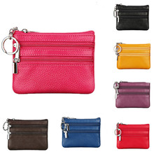 New 2019 Fashion Women PU Leather Mini Coin Purse Wallet Holder