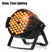 High bright stage light RGBW 54pcs 3W led par Lighting for Disco DJ Club Effect Wedding Show DMX Strobe Lite stage equipment