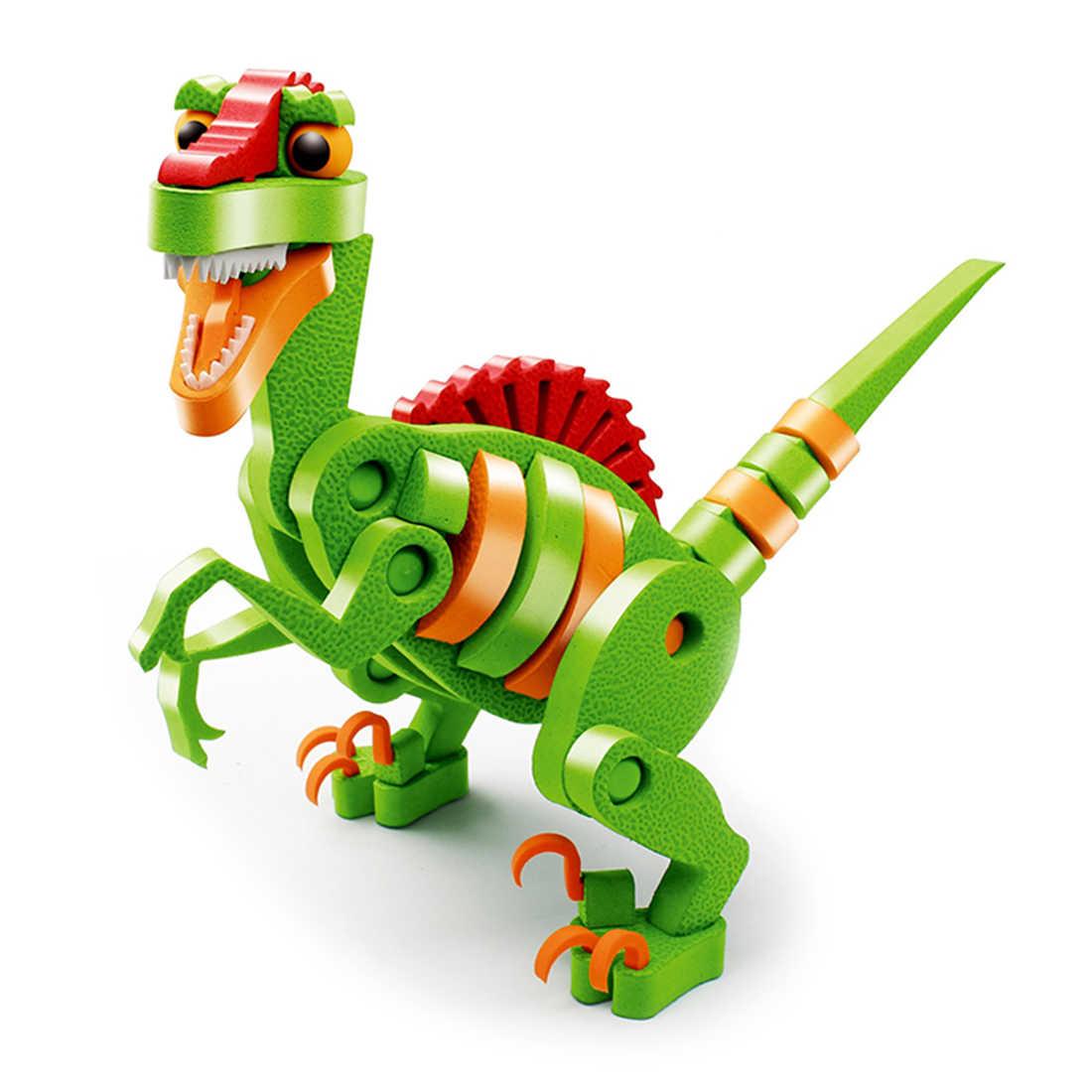 Детские развивающие игрушки EVA 3D динозавр модель интеллектуальная сборка игрушка для ребенка подарок на день рождения