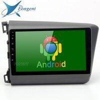 9 Android 8,0 блок Авто умное Радио мультимедийный плеер для Honda Civic 2012 2013 2014 автомобилей ГЛОНАСС gps навигатор стерео DAB