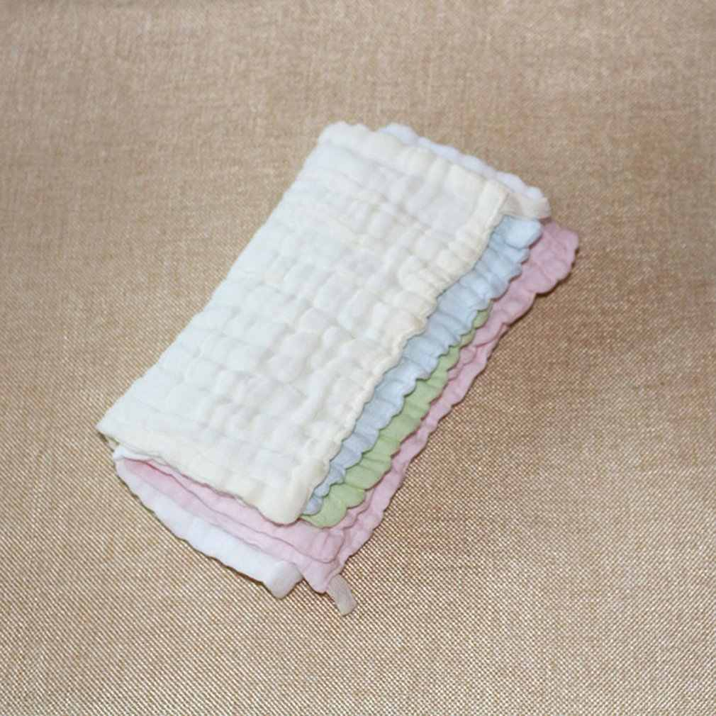 Baby Products Infant Cotton Gauze Small Square Children Super Soft Safe Comfort Wash Towel Newborn Wash Towel