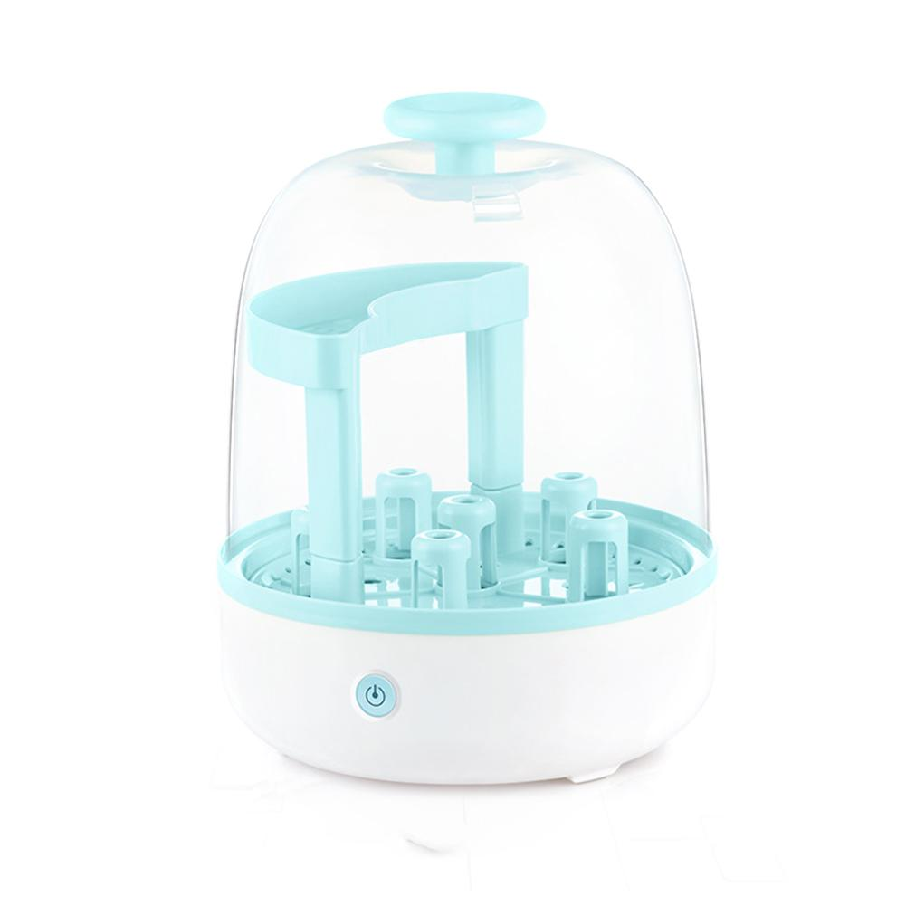 Infant Bottle Safety Microwave Steam Sterilizer Set BPA Free Baby Milk Bottle Toy Sterilizer Nipples Pacifiers Disinfection Box