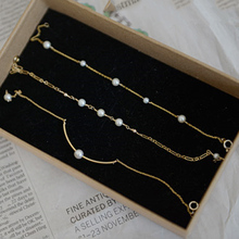 2016 fashion pearl bracelet chain for women gold plated ball freshwater pearl accessories chic fine jewelry charm pearl bangle chic faux pearl decorated geometric bracelet for women