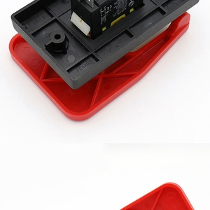 Image 5 - Off On Red Cover Emergency Stop Push Button Switch 16A Power Off/Undervoltage Protection Electromagnetic Start Switch