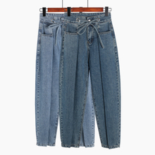Spring Summer Boyfriend Jeans For Women High Waist Loose Denim Pant Casual Harem Vaqueros Mujer