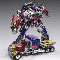 Wei Jiang SS05 Transformation Movie Anime Figure Model Deformable Car Optimus prime Over 30cm Alloy ABS Plastic Toy For Child