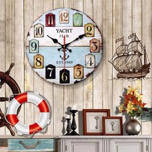 New 12 Inch 3D Big Wall Clock European Retro Modern Design Nostalgic Personality American Large Size For Home