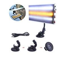 PDR Tools Lamp LED Light Reflector Board Paintless Dent Removal Car Repair Kit USB 5V Auto Repair Tool Sets Removing Dents+USB