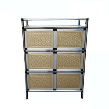 Kaplama Aparador lateral Bestek Lade aleación de aluminio Meuble Buffet  Mueble Cocina muebles armario Aparador