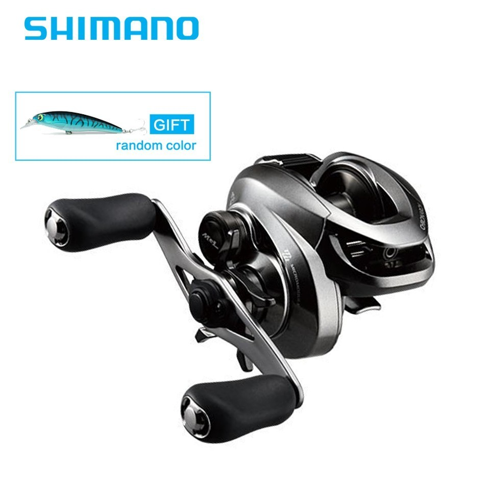Newest Original Shimano CHRONARCH MGL 150HG Baitcasting fishing reel 9BB 185g Max Drag 5kg X Ship