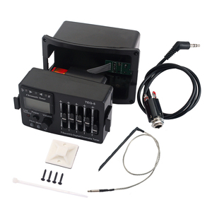 5 Band EQ Pre-Amp Equalizer Pickup Akustische Elektrische Gitarre Vorverstärker Tuner Mit LCD-Tuner Akustische Gitarren Volumen Control