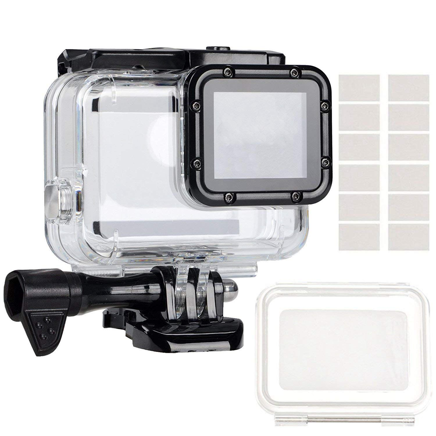 Consumer Electronics Responsible Waterproof Housing Underwater Case Dive With Touch-coverlens And Anti Fog Inserts Accessories Kit For Gopro 6/5-hot Convenience Goods Digital Gear Bags