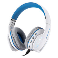 Original Beexcellent Q2 Over ear Stereo Dynamic Bluetooth Headset with Mic and LED lights