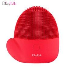 BlingBelle limpiador Facial cepillo Navidad renos Mini portátil no recargable divertido suave de silicona cepillo de limpieza Facial