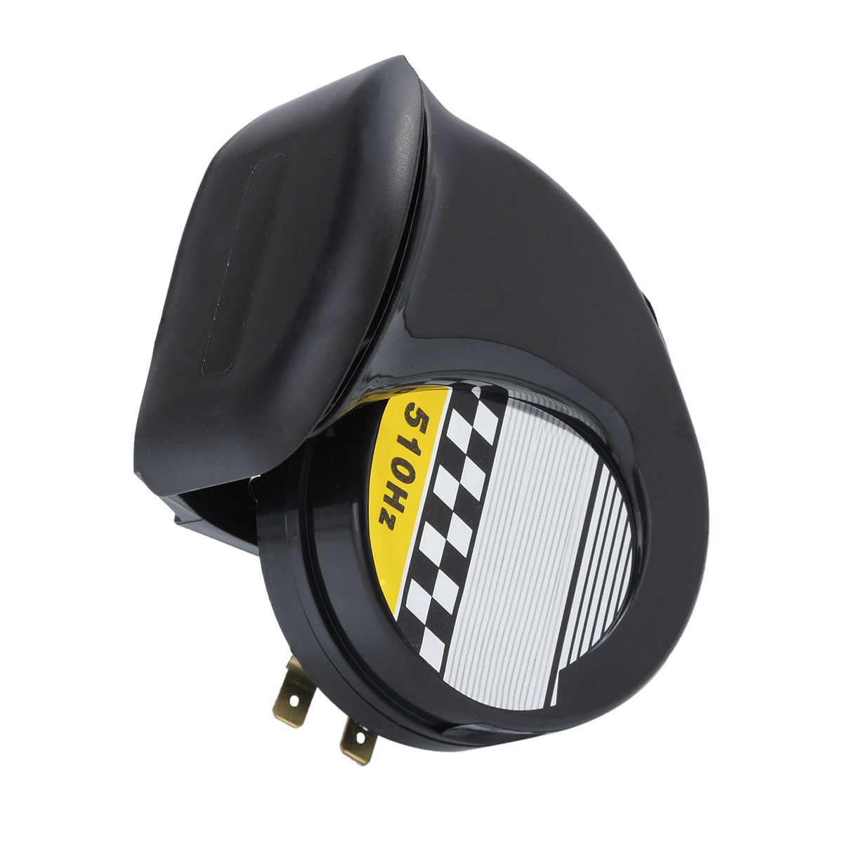 Image 3 - Universal 12V DC 130db Snail Air Motorcycle Horn Siren Loud for Car Truck Motorbike Waterproof-in Multi-tone & Claxon Horns from Automobiles & Motorcycles